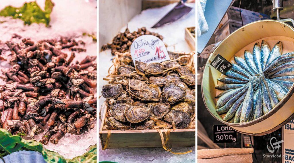 Barcelona Mercat la Boqueria Fisch