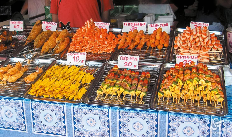 Khao Lak Markt Bang Niang