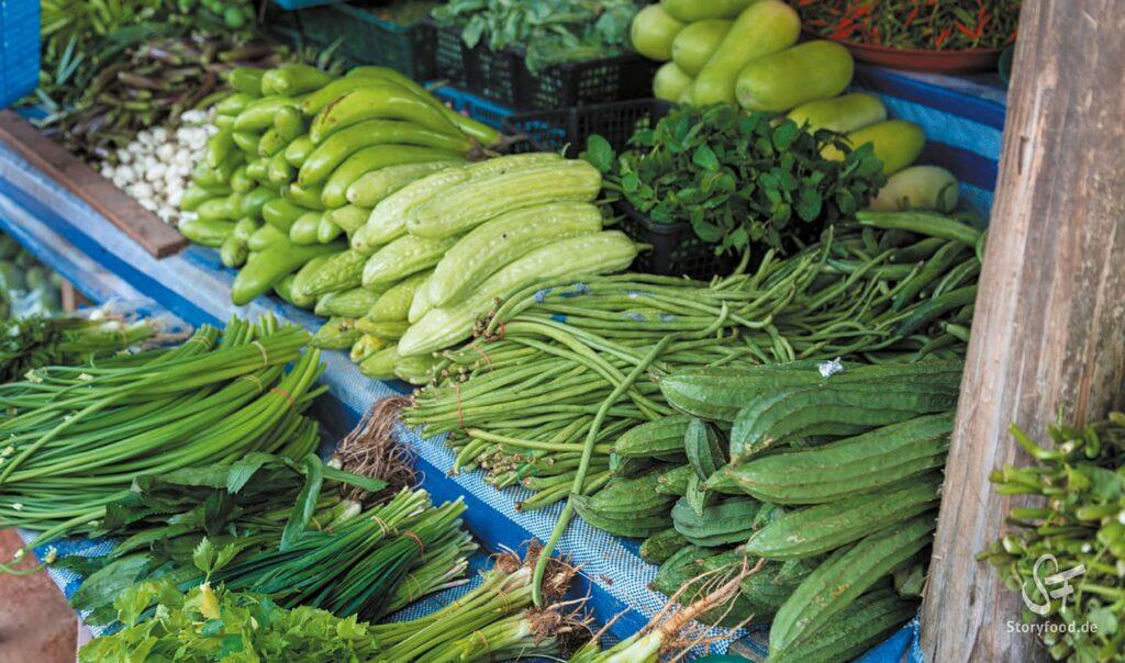 Khao Lak Markt Gemüse